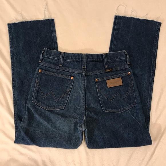 Wrangler Denim - Vintage {Wrangler} high waisted jeans